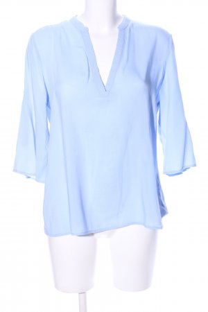 Pull & Bear Tunic Blouse blue casual look