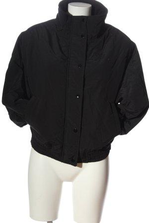 Pull & Bear Übergangsjacke schwarz Casual-Look