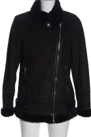 Pull & Bear Kurtka przejściowa czarny W stylu casual