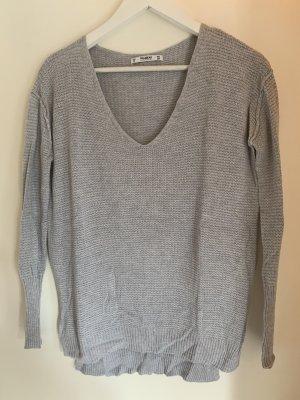 Pull & Bear V-Neck Sweater multicolored