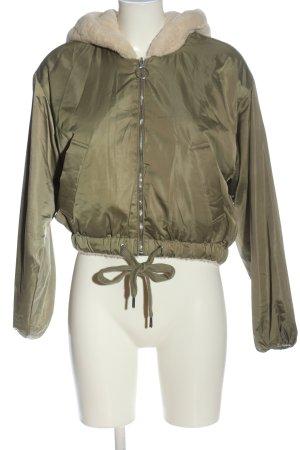 Pull & Bear Reversible Jacket khaki casual look
