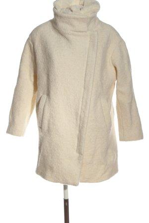 Pull & Bear Winterjas wit casual uitstraling