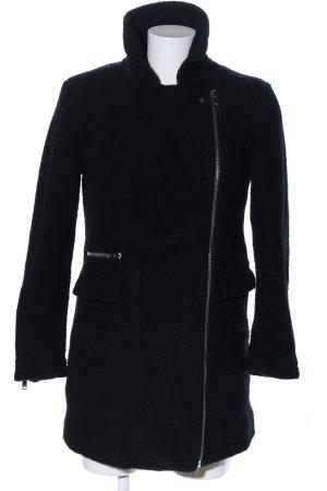 Pull & Bear Wintermantel schwarz Casual-Look keine Textilangabe