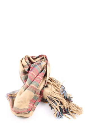 Pull & Bear Woolen Scarf check pattern casual look