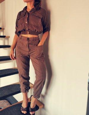 Pull & Bear Ladies' Suit brown