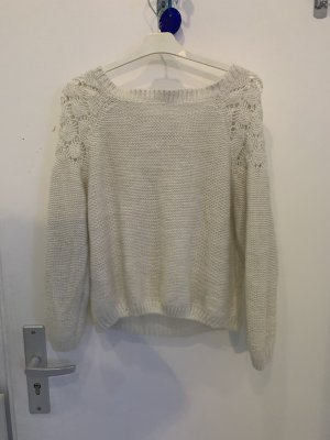 Coarse Knitted Sweater oatmeal