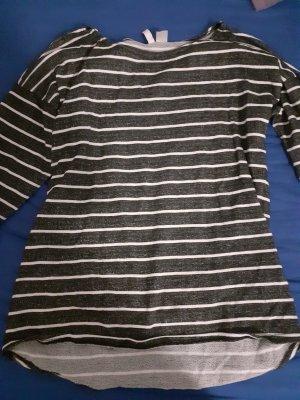 Oversized Sweater black-grey