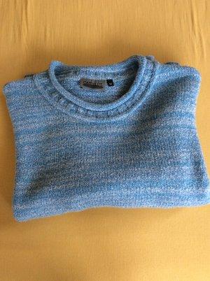 Camelot Kraagloze sweater korenblauw