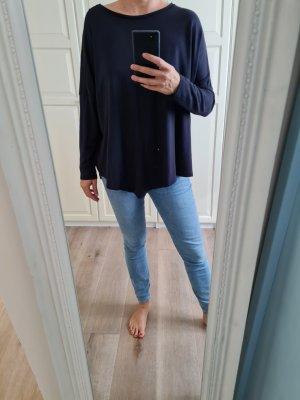 someday Oversized Sweater black-dark blue