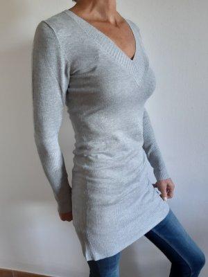 Guess V-Neck Sweater light grey
