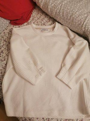 Mango Jersey de manga corta blanco