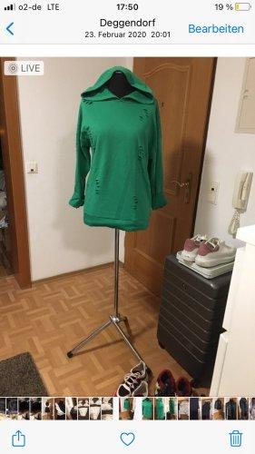Bluza z kapturem leśna zieleń