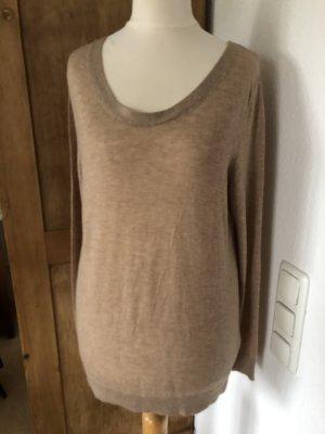 American Vintage Kraagloze sweater veelkleurig