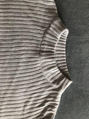 H&M Divided Gehaakte trui lichtgrijs-lichtblauw
