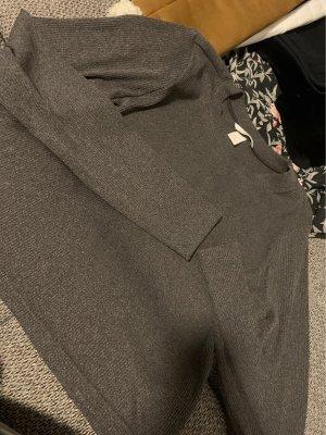 H&M Geribd shirt taupe