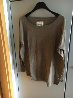Blaumax Oversized Sweater grey brown