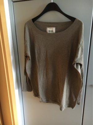 Blaumax Maglione oversize marrone-grigio