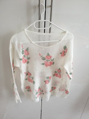 Chicwish Knitted Jumper multicolored