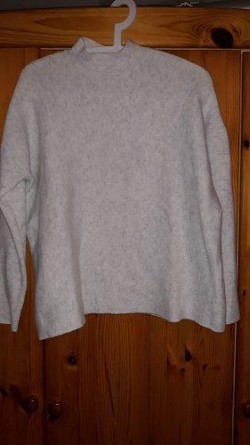 Sweter oversize jasnoszary