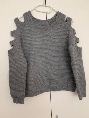 Pulli Cut Out 36/S Damen Pullover Fashion