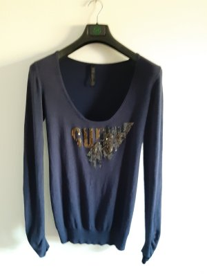 Guess Oversized trui donkerblauw