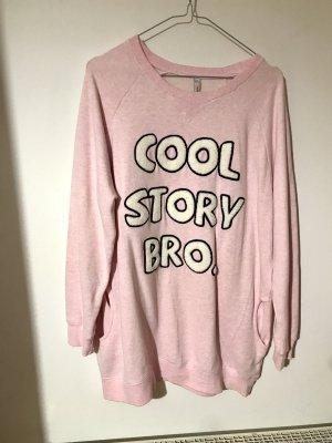 Oversized Sweater pink