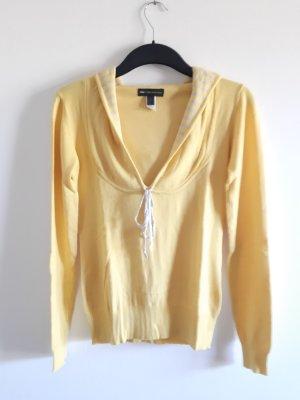 Mango Jersey con capucha amarillo