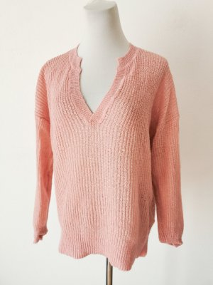 H&M Coarse Knitted Sweater pink-pink