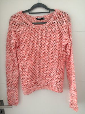 Coulors of the World Coarse Knitted Sweater multicolored cotton