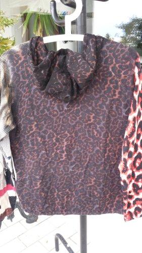 Pulli Hoodie von TAIFUN Animalmuster Größe M