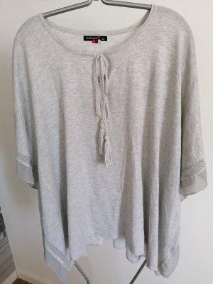 Camicia a tunica grigio chiaro