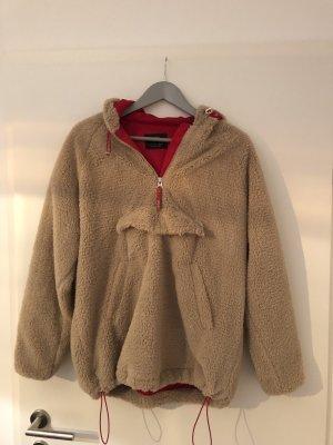 Bershka Polarowy sweter Wielokolorowy