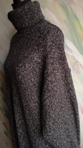 HM Sukienka dresowa szary-ciemnoszary