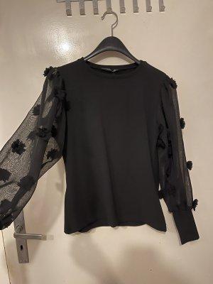 Pullover in cashmere nero