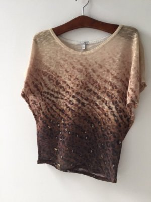 caché Short Sleeve Sweater multicolored