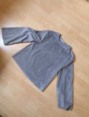 Zara Oversized trui grijs