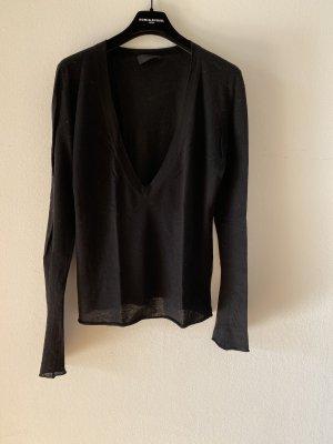FFC Pullover in cashmere nero