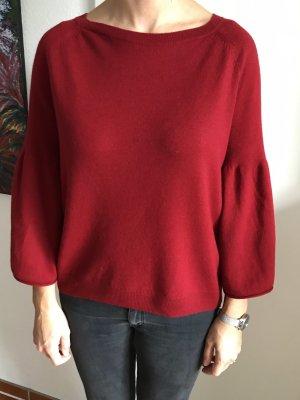 Hugo Boss Maglione lavorato a maglia carminio-rosso scuro