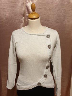 Arizona Crewneck Sweater natural white-khaki