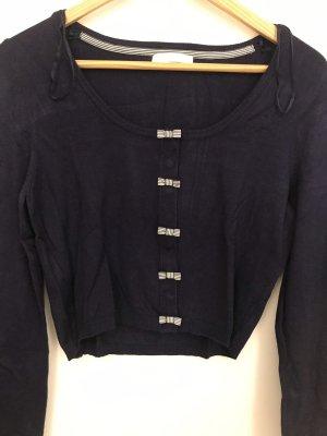 Promod T-shirt ciemnoniebieski