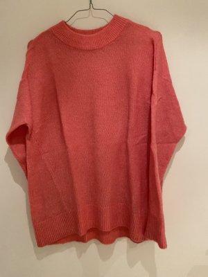 H&M Kraagloze sweater veelkleurig Mohair