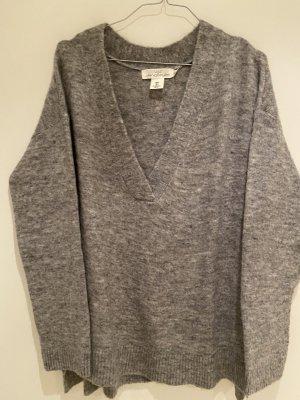 H&M Long Sweater multicolored alpaca wool