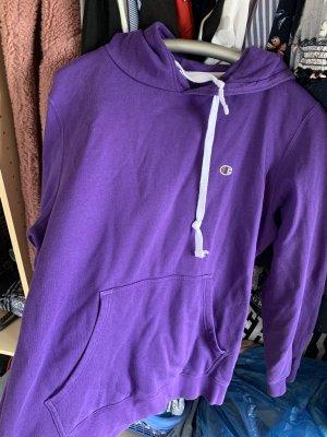 Champion Jersey con capucha violeta oscuro