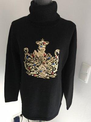 Pulli,Pullover Größe 38/40, Strass, gestickt, Paletten, NEU ohne Etikett