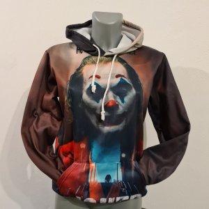 Pulli Pullover Joker NEU XS 34 Kapuzenpulli bunt Hoodie Batman