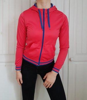 Pulli Pullover rosa blau neonrosa neon pink neonpink hoodie cardigan shirt tshirt t-shirt top