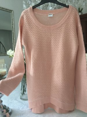 Vero Moda Długi sweter stary róż