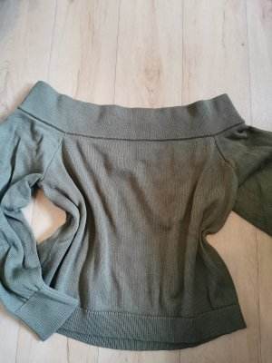 H&M Divided V-Neck Sweater khaki