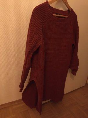 Mango Pullover a maglia grossa bordeaux
