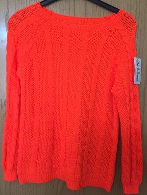 Pulli v. New Collection-Schock Orange-Gr.ca. 38-Neu/Etikett